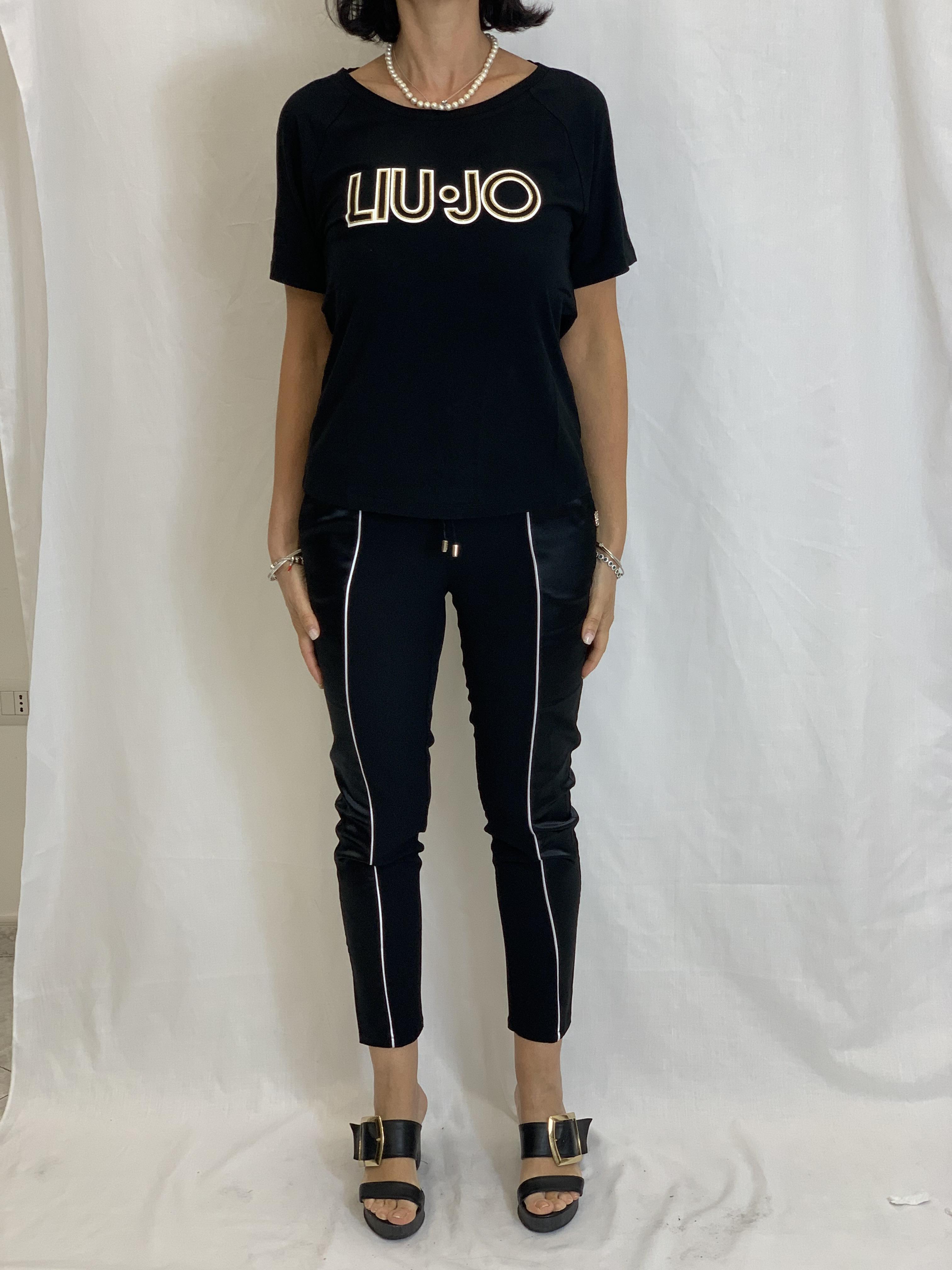 Tshirt with logo LIUJO      TA1012J790522222