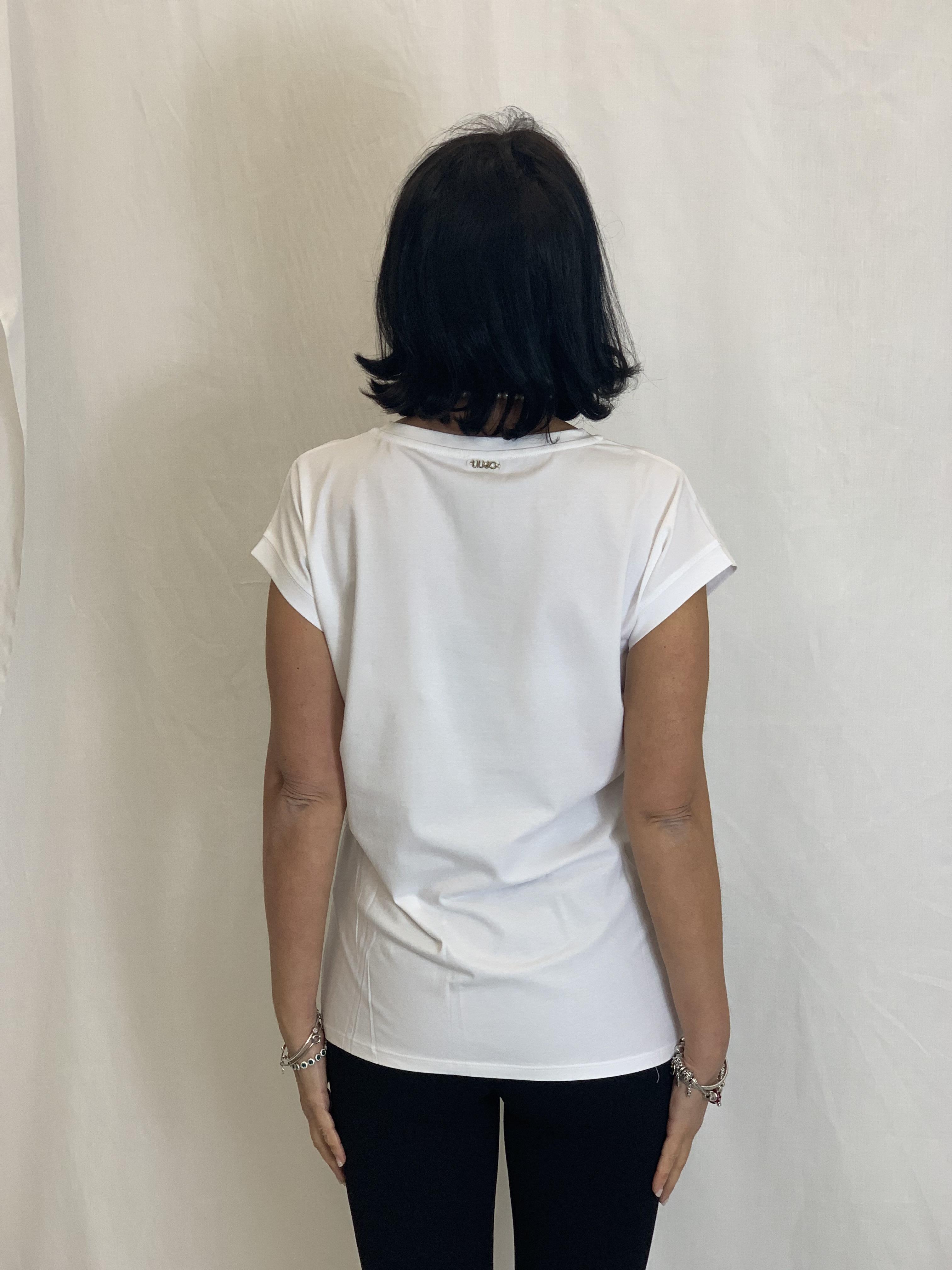 T-shirt in cotone LIUJO | Maglia | TA1159J500311110