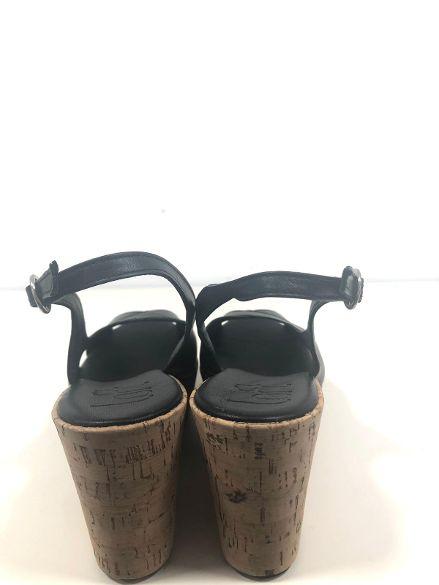 Sandali in pelle e sughero MELANY BOUTIQUE | Sandali | 351ACSECNARF01