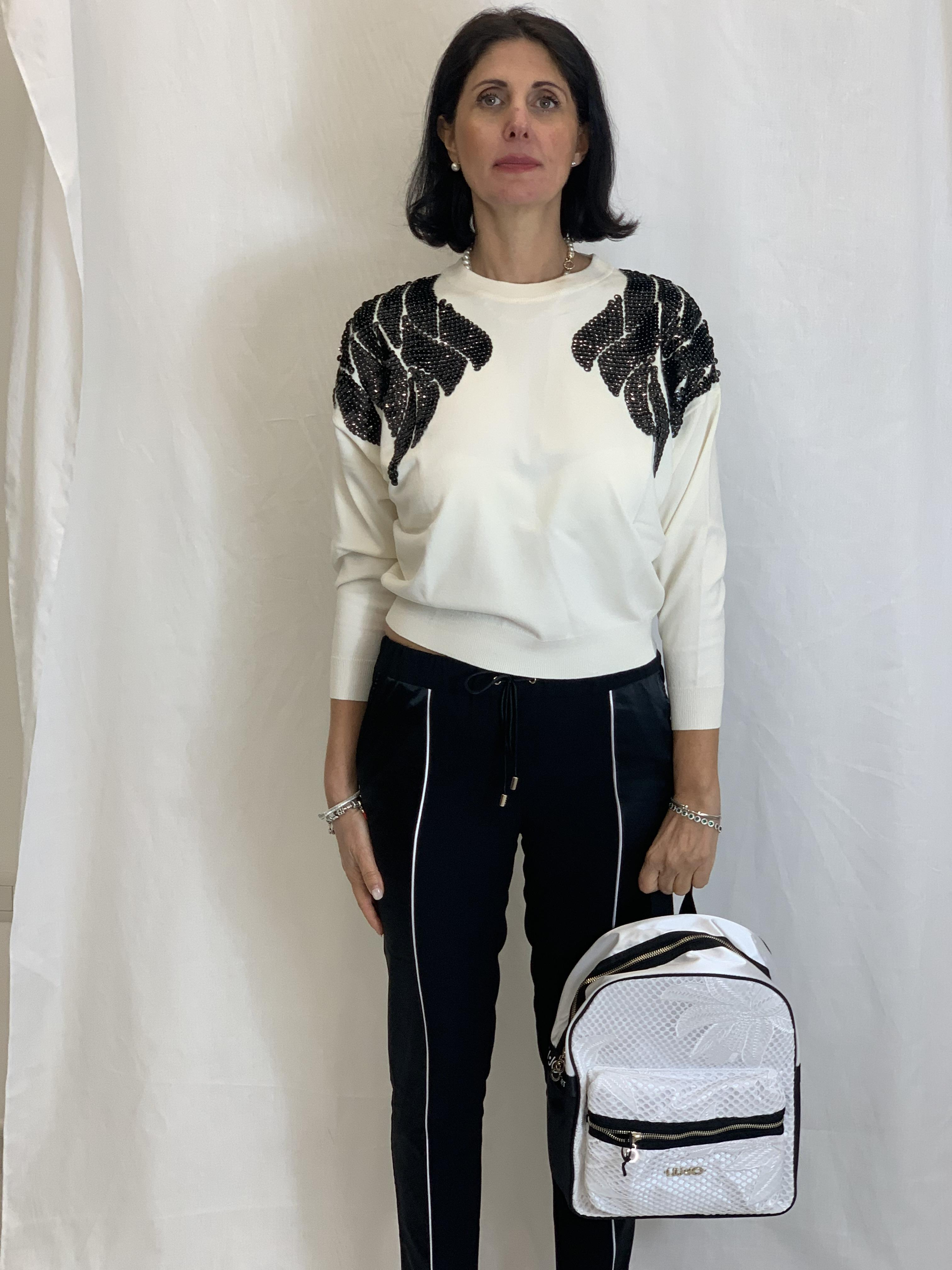 Sweater with sequins  RELISH |  | DOYNAT1101