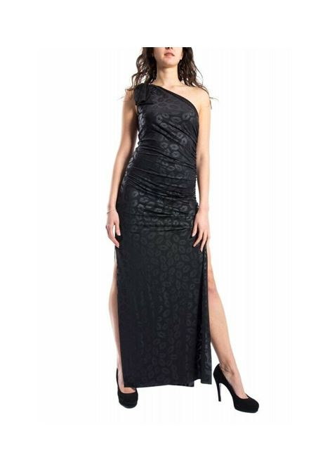 Long one-shoulder dress DENNY ROSE |  | DR120252001
