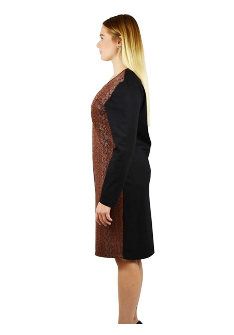 Sheat Dress long sleeves V neck MEALYS |  | CY-A32402