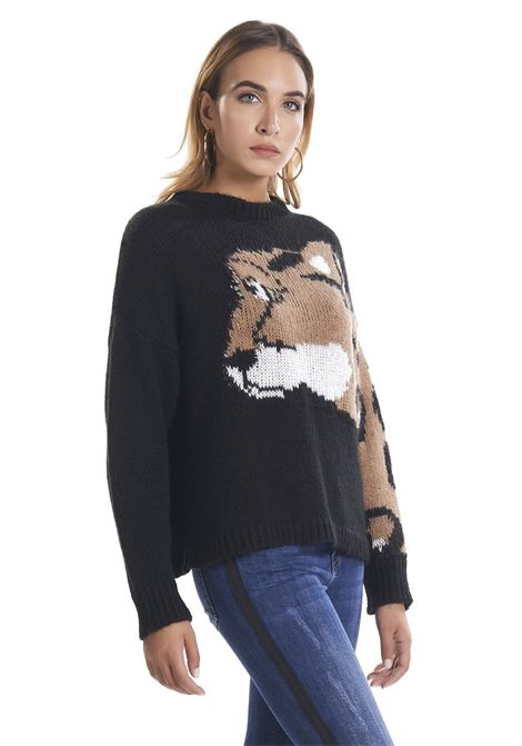 Wool sweater with cheetah  RELISH |  | RDA19024640761199