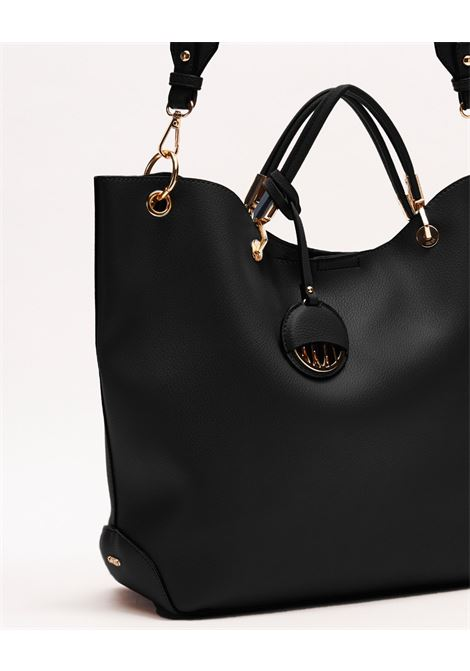 Shoulder bag realized soft leather effect texture GAUDI borse |  | V0A-71503BLACK