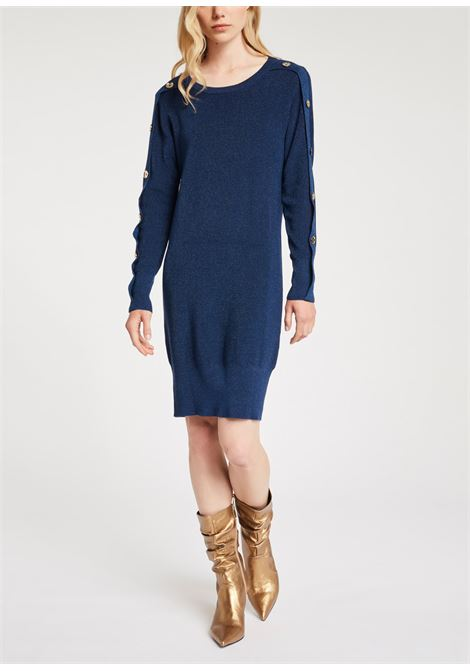 Abito lana longuette Wool dress GAUDI | Abiti | BD130042891