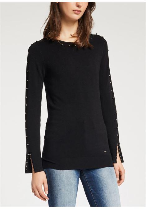 Long light crewneck sweater GAUDI |  | BD530252001