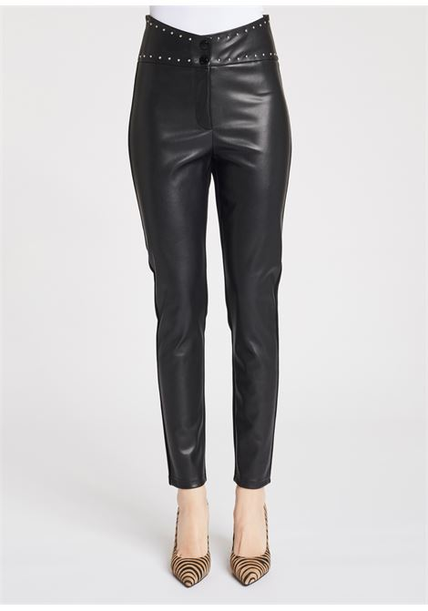 Faux leather trousers on the front GAUDI |  | FD280022001