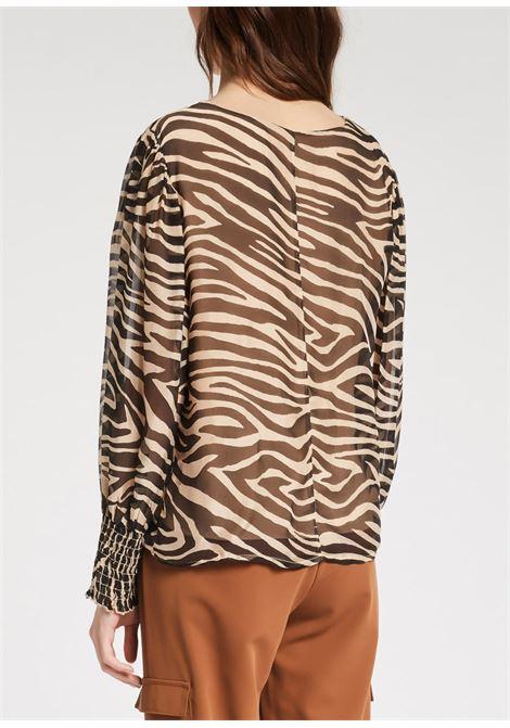 Blusa stampa zebrata GAUDI | Bluse | FD4503102107-01