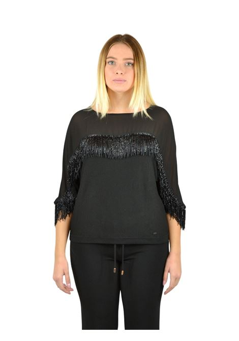 Neckline shirt and three-quarter sleeve GAUDI |  | FD530232001