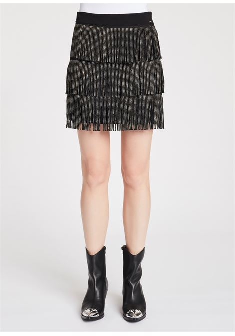 Short skirt with fringes GAUDI |  | FD740022001
