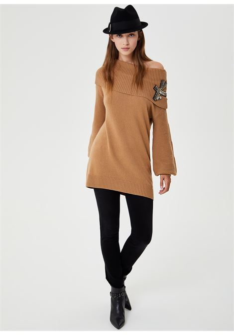Sweater with neckline Bardot LIUJO COLLECTION |  | CF0076MA16G22222