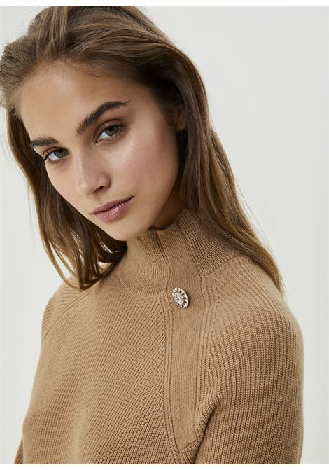 Half-neck sweater made with yarns blend wool LIUJO COLLECTION |  | CF0221MA86J64031