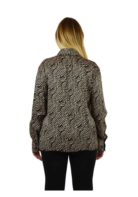 Camicia stampa animalier LIUJO COLLECTION | Camicie | CF0242T2417T9248