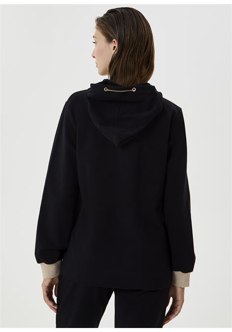 Open sweatshirt with zip and hood LIUJO SPORT |  | TF0083F080222222