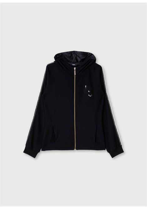 Felpa aperta Open sweatshirt LIUJO SPORT | Felpe | TF0113F057622222