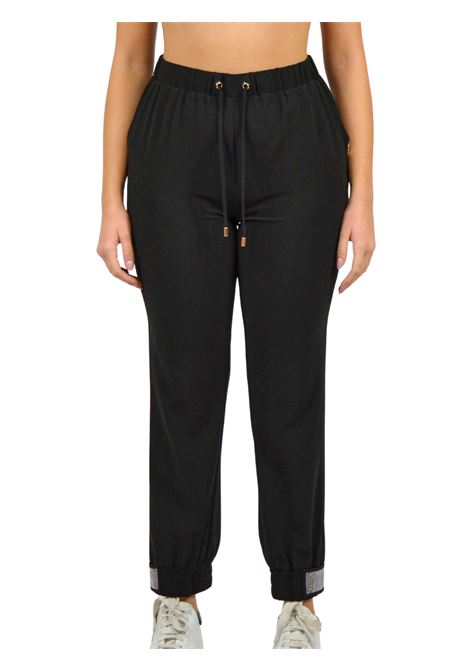 Trousers with elastic waistband plus drawstring LIUJO SPORT |  | TF0133T842322222