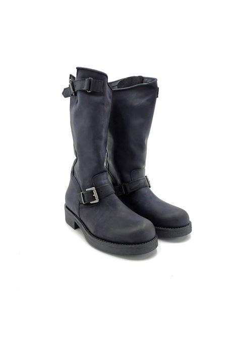 Stivali in pelle Noa | Stivaletti | 2055NERO