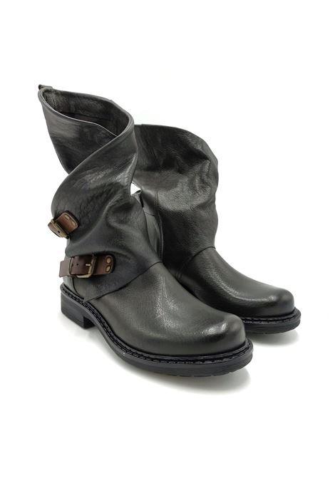 Stivali in pelle con fibbie Noa | Stivaletti | 550ASFALTO