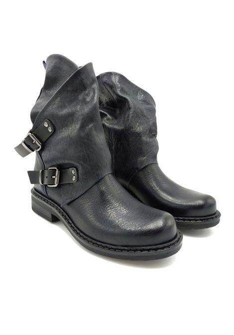 Stivali in pelle con fibbia Noa | Stivaletti | 550BLU