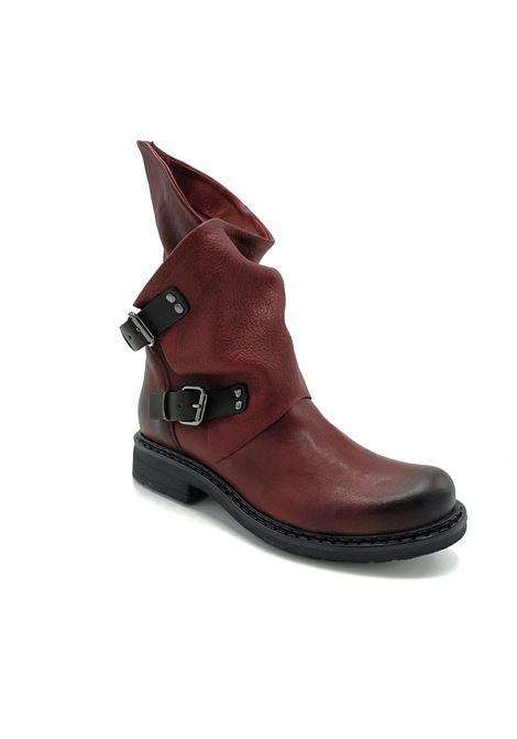 Stivali in pelle con fibbia Noa | Stivaletti | 550BORDO