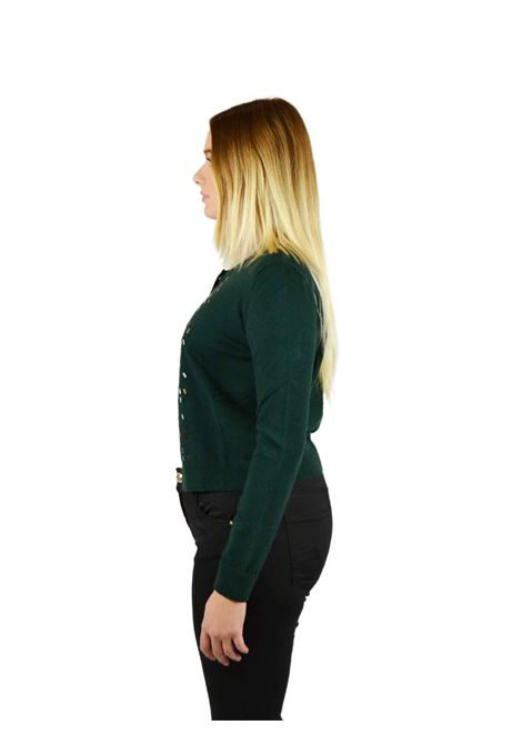 Crewneck open sweater RELISH |  | CILLION1851
