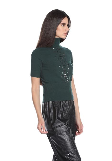 Turtleneck sweater with sequins RELISH |  | COSTARA1851