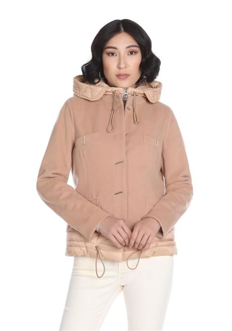 Short coat with hood plus nylon profiles RELISH |  | GRINGOTTS1997