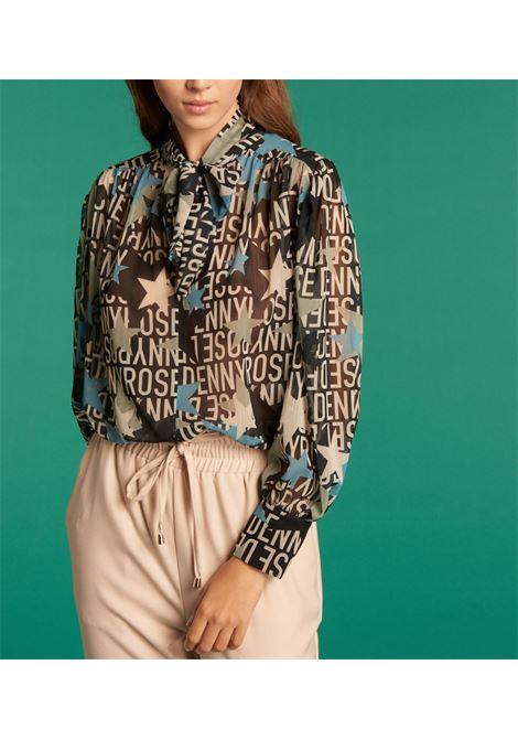 Camicia stampata in georgette DENNY ROSE | Camicia | DD4000301