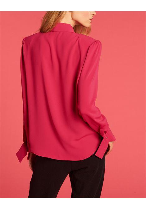 Camicia in tessuto fluido con collanina DENNY ROSE | Camicia | DD400082624