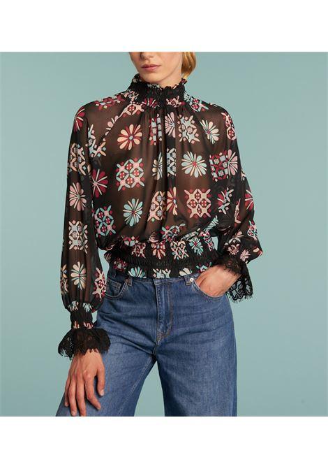 Camicia tipo blusa stampata DENNY ROSE | Camicia | DD4000901