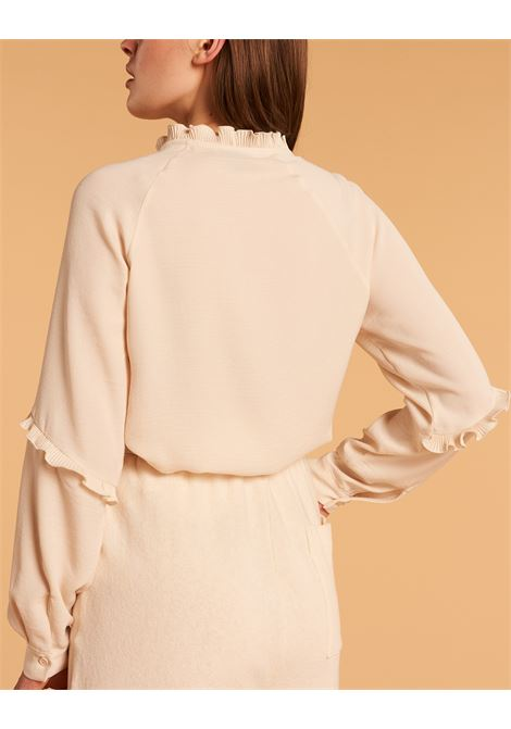 Camicia con rouche DENNY ROSE | Camicia | DD400122125