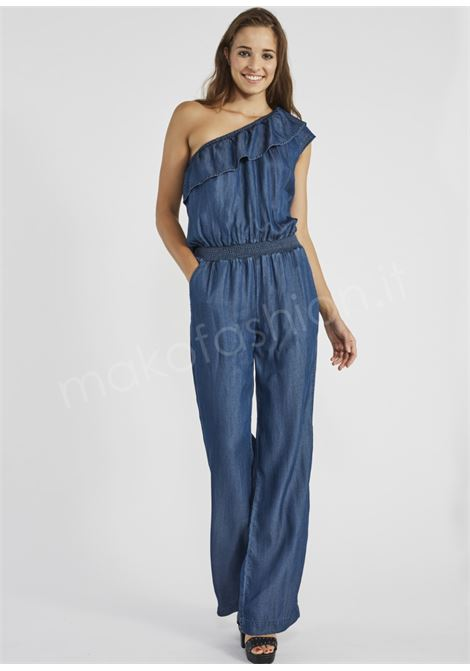 One-shoulder jumpsuit with voilà, GAUDI JEANS |  | BD2602300