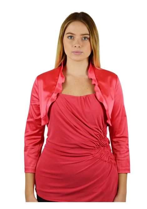Short bolero Jacket with 34 sleeves  RINASCIMENTO |  | 0707CORALLO