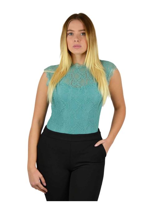Maglia a body in pizzoBodysuit with lace  RINASCIMENTO | Body | PP29RR38AAVERDE