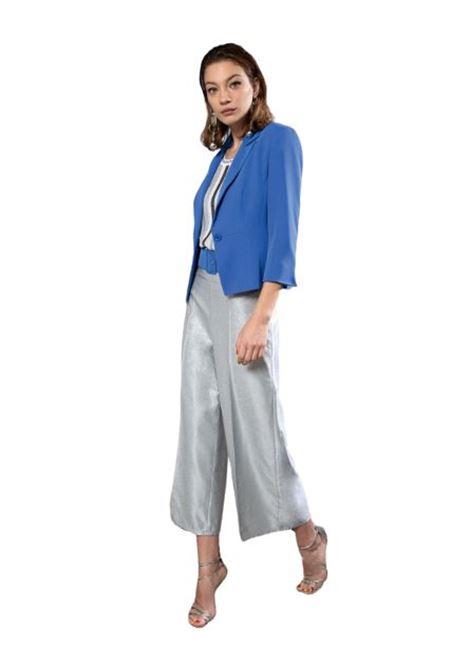 Wide leg lurex effect trousers  BENEDETTA VALERI |  | GAUDIOARGENTO