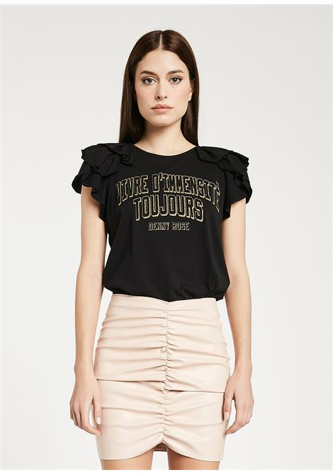 T-shirt made of pure cotton jersey  DENNY ROSE |  | DD600262001