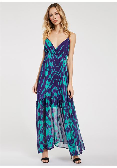 Long dress in georgettes fabric  GAUDI FASHION |  | FD15016011008-01