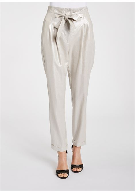 Trousers made of viscose and linen GAUDI |  | FD250312223