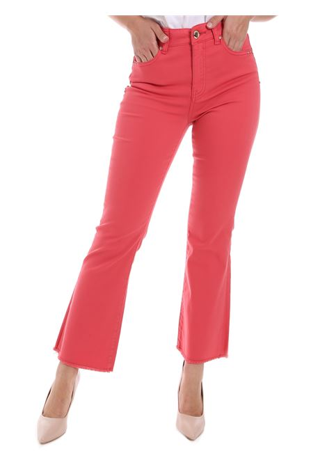 5-pocket trousers ,in stretch cotton blend. GAUDI |  | BD250173411