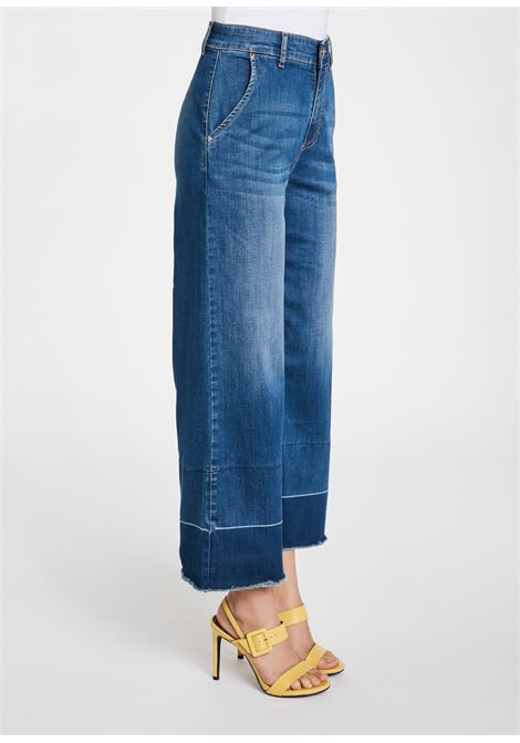 jeans gamba largaCotton jeans medium GAUDI | Jeans | BD2603000