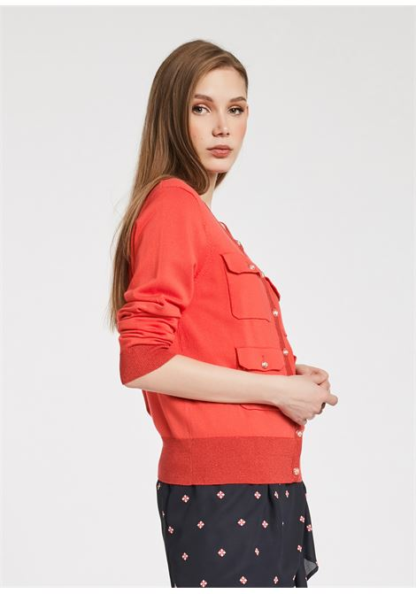 Open mesh in viscose blend yarn GAUDI JEANS |  | BD530062001