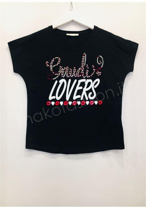 T-shirt con collo giro   GAUDI JEANS | Maglie | BD640082001