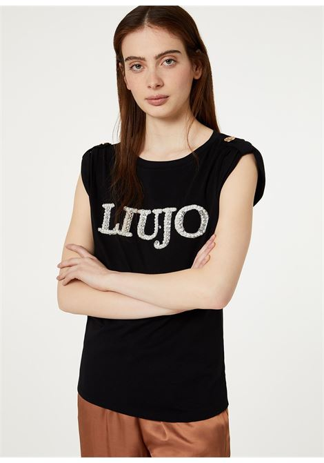 Shirt with bead print LIUJO COLLECTION |  | CA0121J596911111