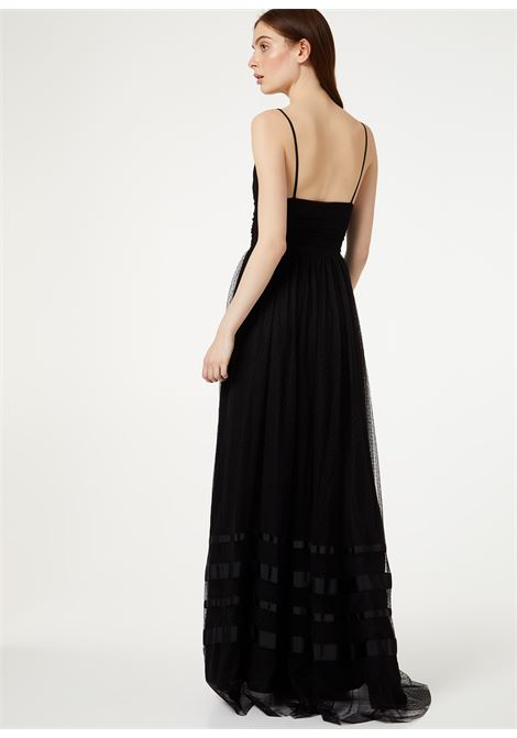Long dress in tulle supported by two thin straps LIUJO |  | IA0113J184022222