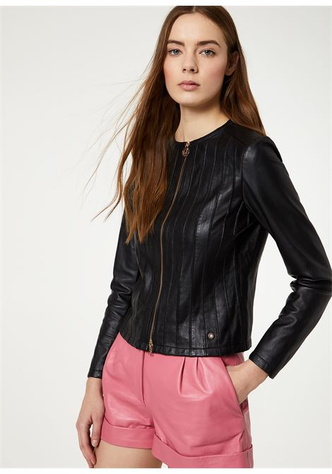 Genuine leather jacket LIUJO GOLD |  | PA0052P033622222