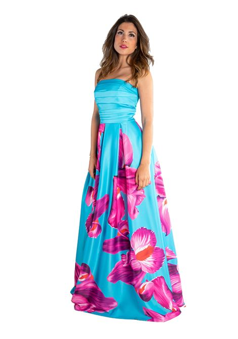 Long decollete dress  SAVUKA |  | 31641-ENERO