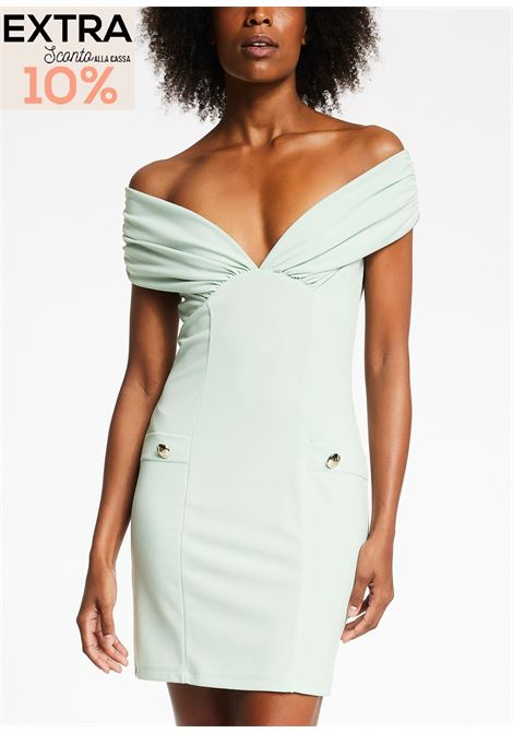 Dress with bardot neckline  DENNY ROSE |  | DD100322632