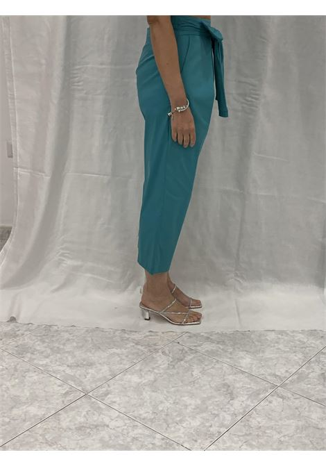 Pantaloni con fiocco DENNY ROSE | Pantaloni | DD200232942