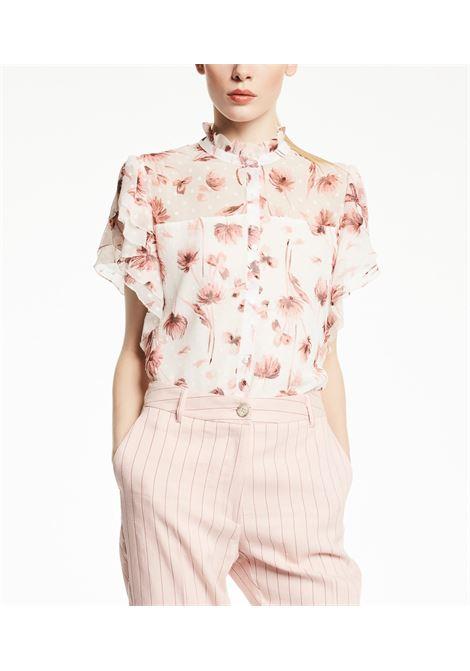 Camicia a fiori in georgettes GAUDI | Camicie | FD45007111028-01