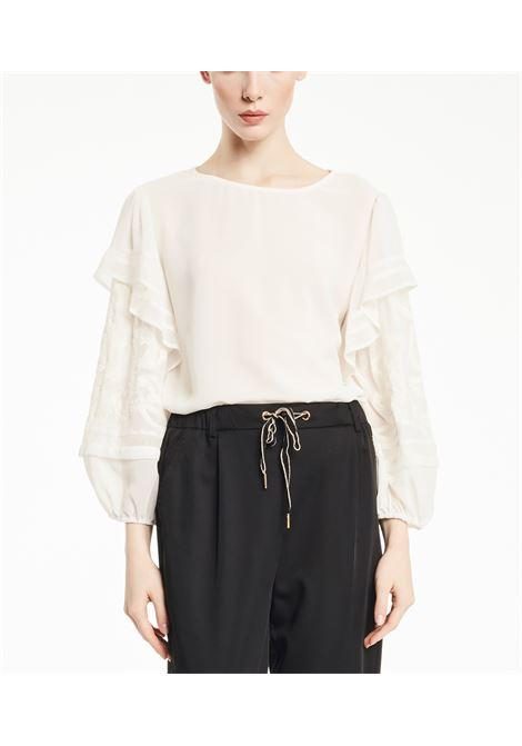 Camicia girocollo con maniche lunghe GAUDI | Camicie | FD450152101